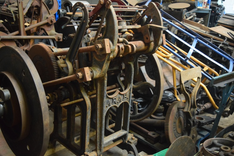 The Logan Press - Arab before restoration