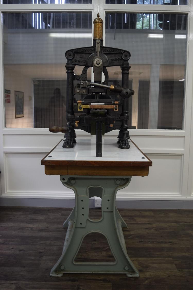 1847 tabletop Albion Press 2