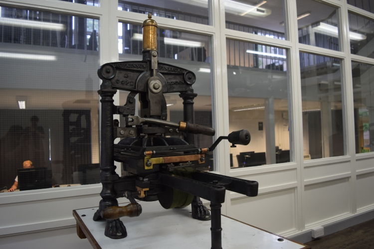 1847 tabletop Albion Press 1